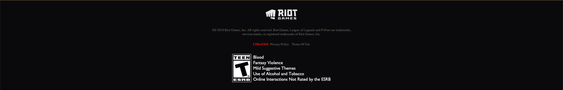 Tilt Types - Riot Games Player Support